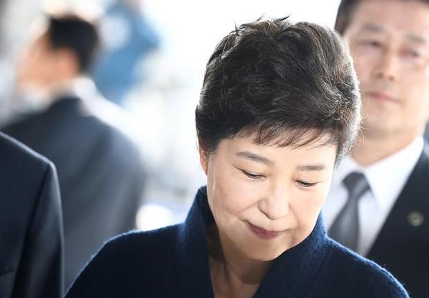 A presidente destituída da Coreia do Sul, park Geun-hye (Foto: Jeon Heon-kyun/EFE)