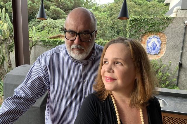 Aimar Labaki e Débora Duboc (Foto: Divulgação)