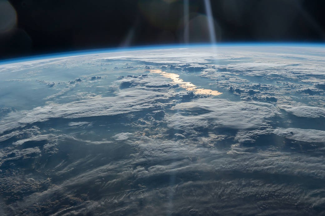 Cazaquistão visto do Espaço em julho de 2017 (Foto: NASA)