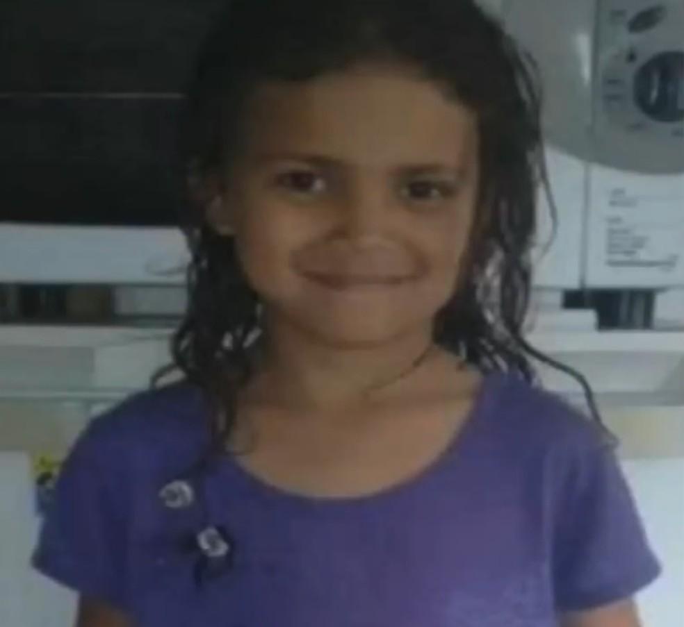 Naiara estava desaparecida desde o dia 9 de março (Foto: Reprodução/RBS TV)