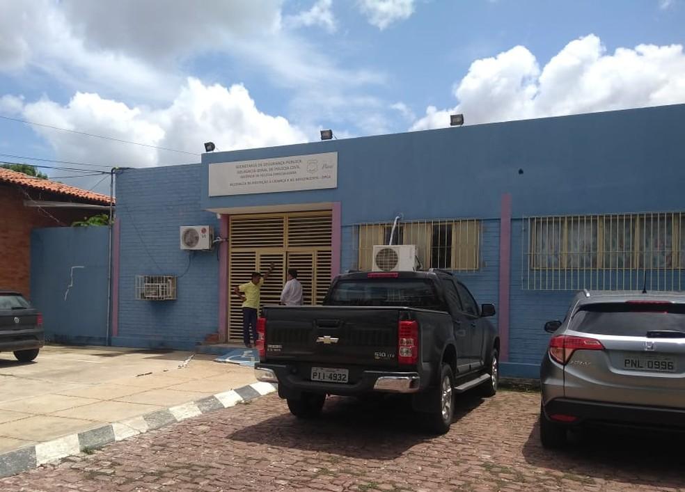 Delegacia de Proteção à Criança e Adolescente (DPCA), em Teresina, vai apurar o caso — Foto: TV Clube