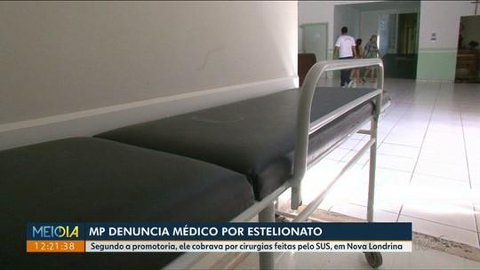 MP denúncia médico e ex-diretor de hospital municipal de Nova Londrina por estelionato