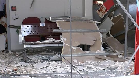 Explosão em agência bancária danifica casas vizinhas e assusta moradores de Guapiara