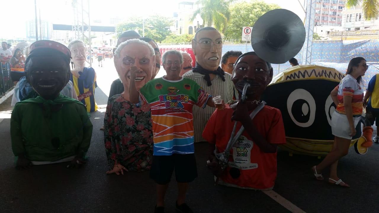 Berbigão do Boca abre a festa de carnaval em Florianópolis