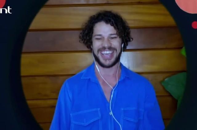 José Loreto participou do 'Que história é essa, Porchat?' (Foto: Reprodução)