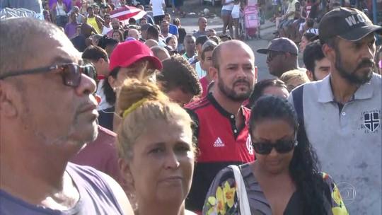 Dez mil pessoas se vacinam contra a febre amarela em Nilópolis neste sábado