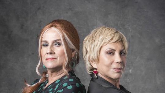 Vera Holtz e Arlete Salles comentam rivalidade em 'Eu, a Vó e a Boi' e trocam elogios; vídeo!