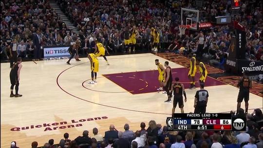 Confira os melhores momentos de Lebron James contra os Pacers pelos playoffs da NBA