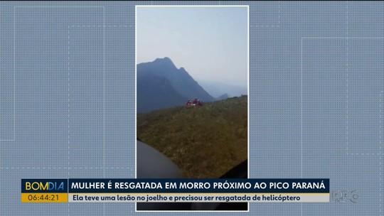 Quatro pessoas que estavam perdidas no Pico Paraná são encontradas