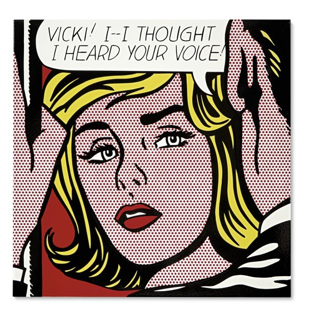 Roy Lichtenstein, Vicki! I Thought I Heard Your Voice, 1964 (Foto: Roy Lichtenstein, Vicki! I Thought I Heard Your Voice, 1964)