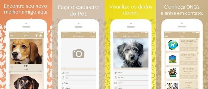 Ajude um animal a encontrar um lar: adote (Foto: Divulgação/Apple)