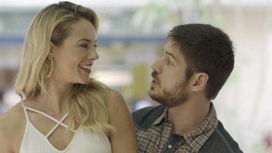Jeiza conta para Zeca que fechou show com cantora de carimbó