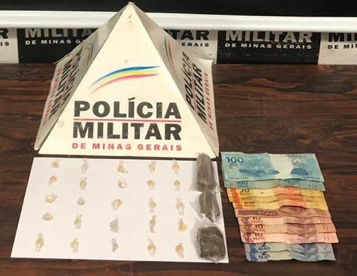 Jovem é presa por tráfico de drogas em Divinópolis - Notícias - Plantão Diário