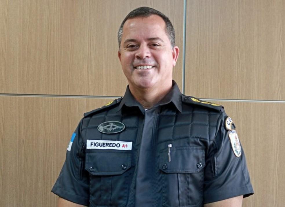 Secretário de Polícia Militar, Rogério Figueredo de Lacerda — Foto: Divulgação