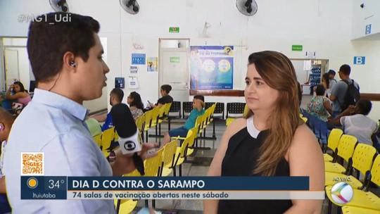 Dia 'D' de vacinação contra o sarampo é neste sábado no Triângulo Mineiro e Alto Paraíba