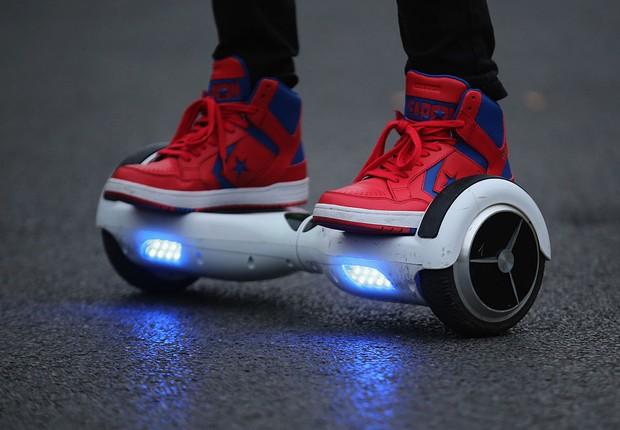 Hoverboard, skate elétrico (Foto: Christopher Furlong/Getty Images)