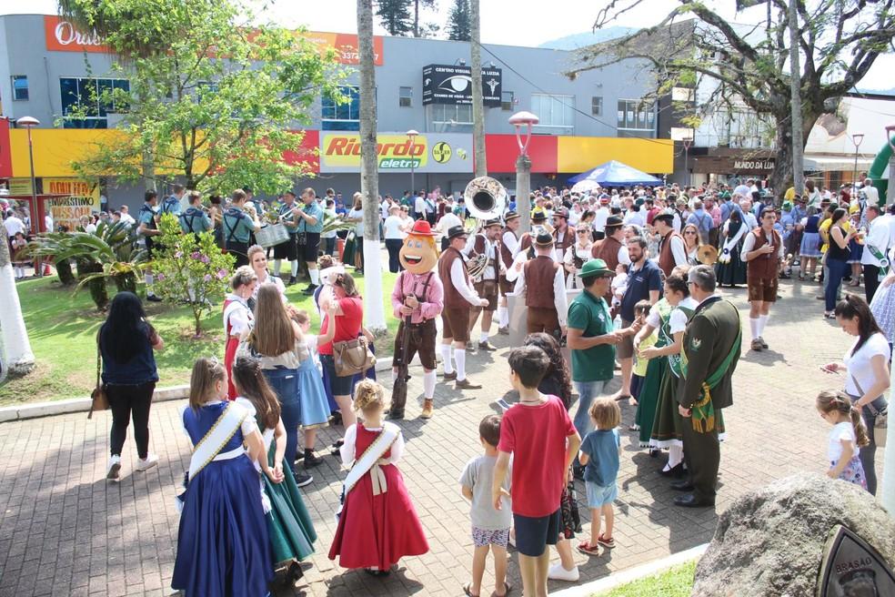 Jaraguá do Sul promove 31ª edição da Schützenfest, a Festa dos Atiradores — Foto: Divulgação