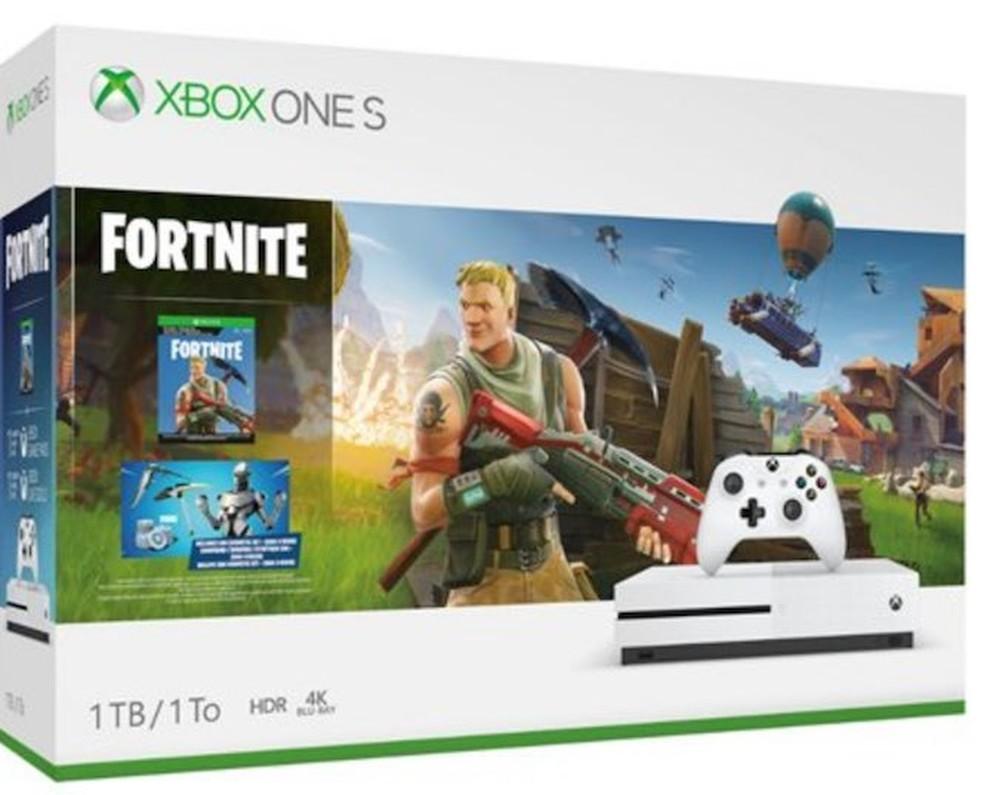 Xbox One ganha pacote especial de Fortnite com skin