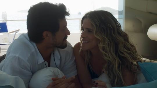 Personagens de Romulo Estrela e Ingrid Guimarães se conhecem e têm noite de amor; confira teaser