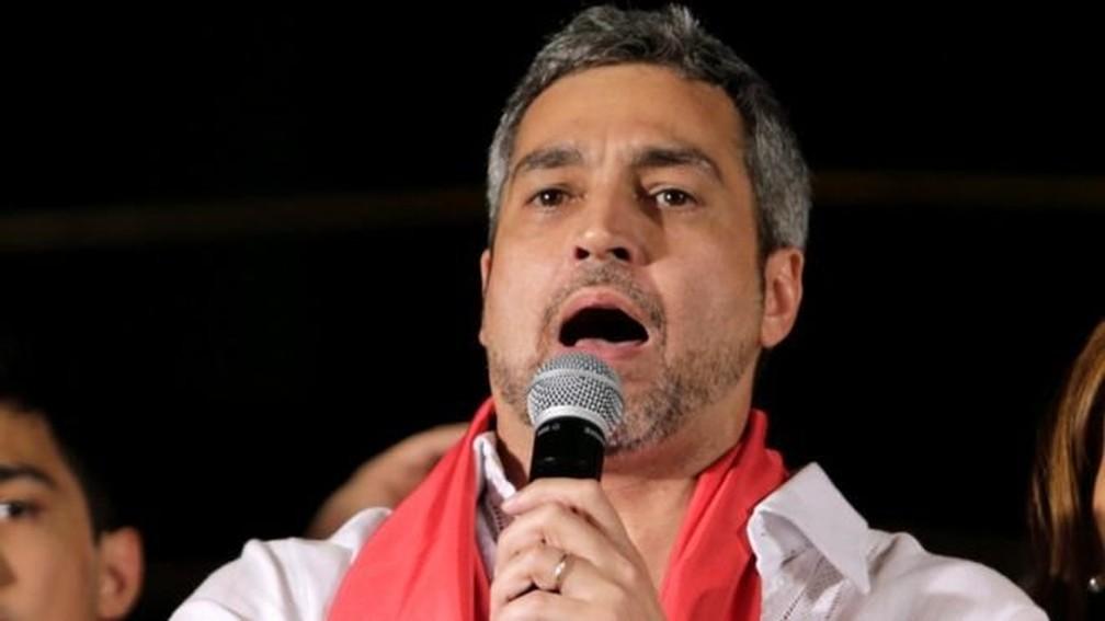 Mario Abdo Benítez — Foto: Reuters