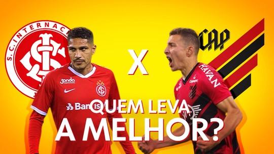 Ruben ou Guerrero, quem é mais decisivo? Veja a análise dos gols dos artilheiros de Athletico e Inter
