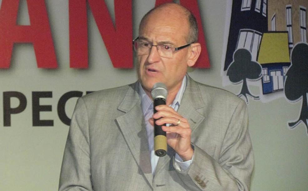 José de Filippi Júnior, candidato do PT à Prefeitura de Diadema, na Grande SP.  — Foto: Acervo Pessoal