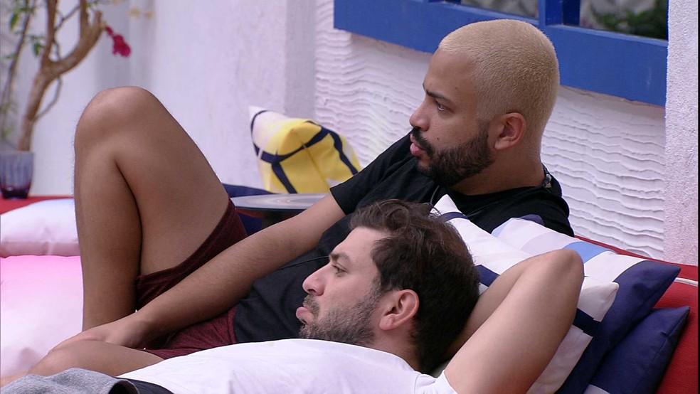 BBB21: Projota fala de Camilla de Lucas e Viih Tube — Foto: Globo