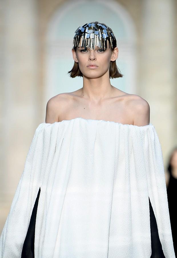 Ucha Meirelles Alta-Costura - (A noiva da temporada outono-inverno 2018 Givenchy) (Foto: Getty Images)