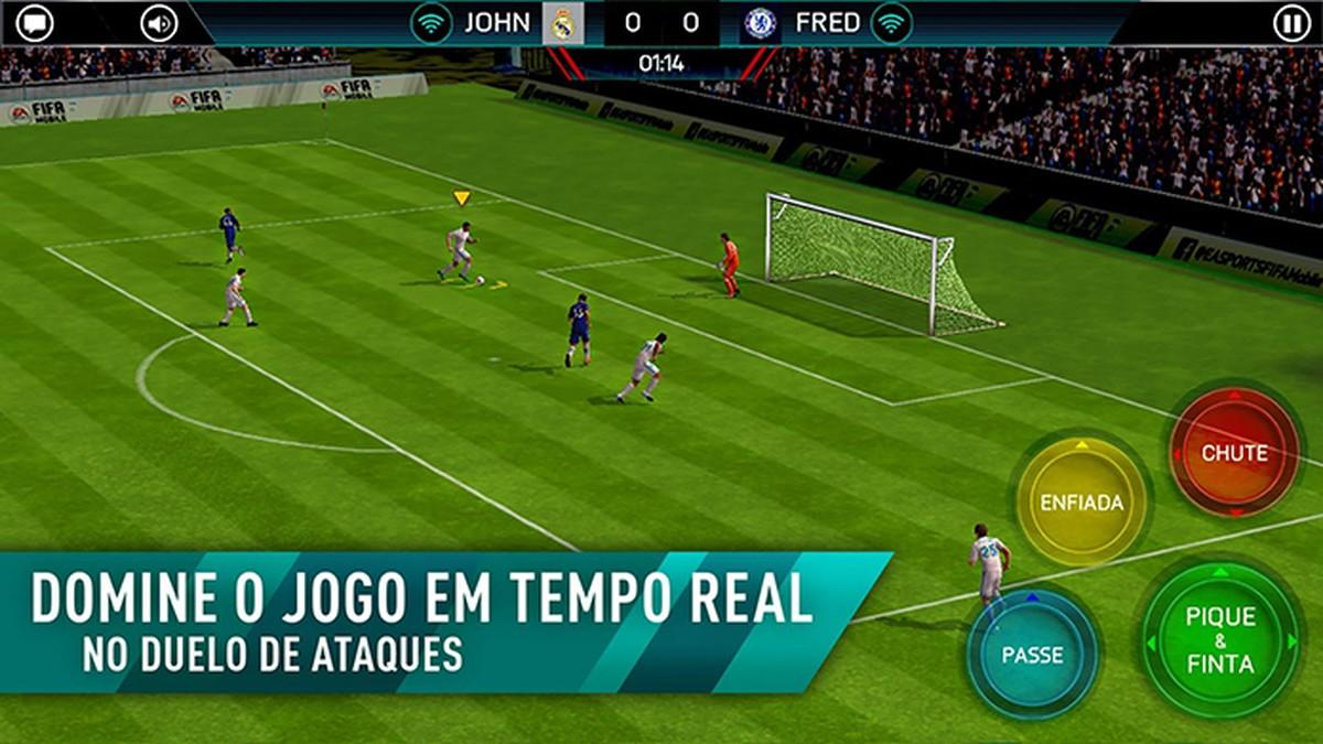 Jogar jogos de futebol online