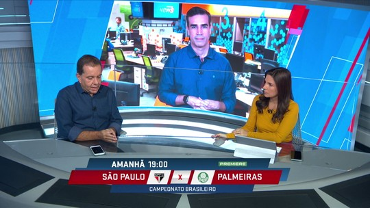 São Paulo melhora, Palmeiras é o de sempre