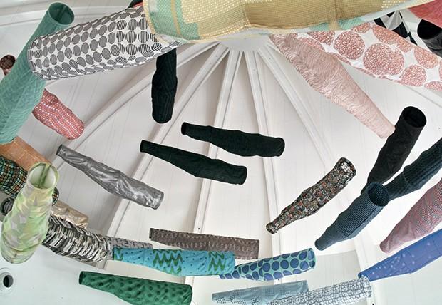 Ucha Meirelles Japonismo (Instalação assinada por Reiko Sudo e Adrien Gardere's) (Foto: Divulgação)