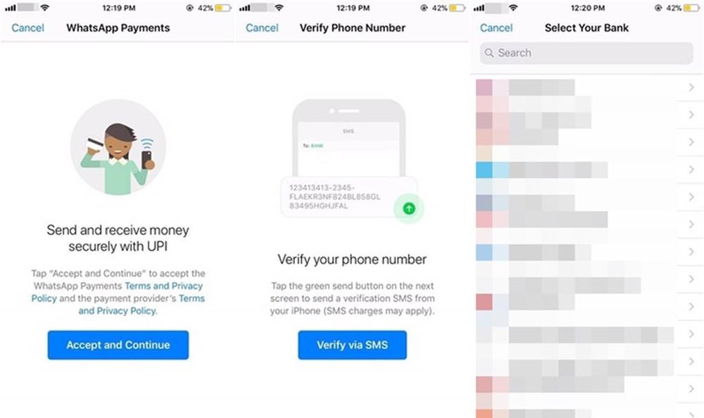 Pagamentos via WhatsApp podem chegar em futura atualização