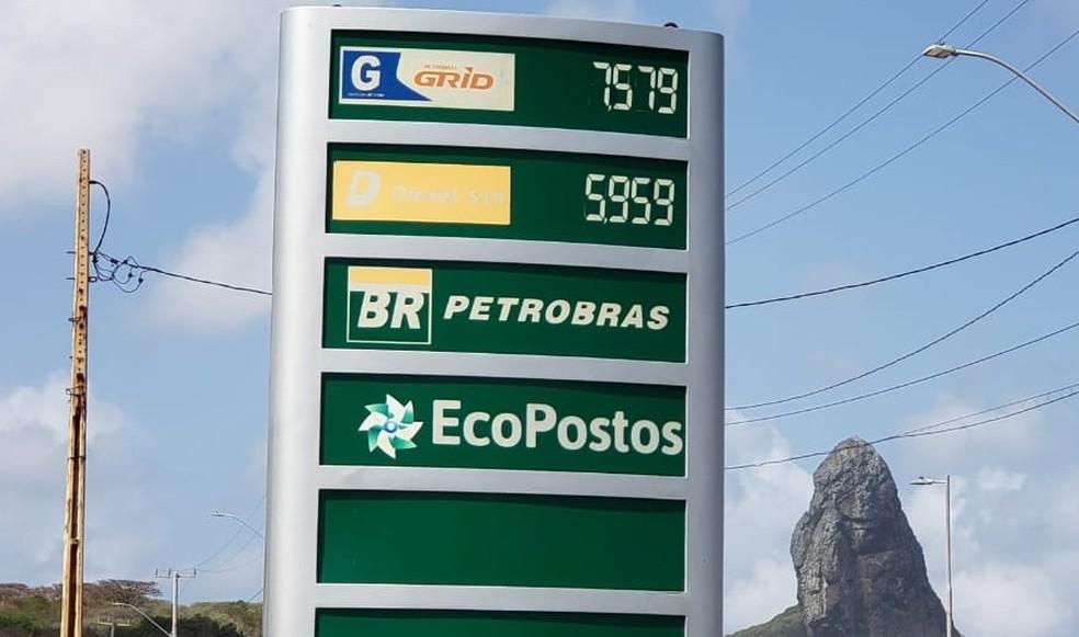 Volume comercializado de diesel somou pouco mais de 5 bilhões de litros em abril — Foto: Ana Clara Marinho/TV Globo