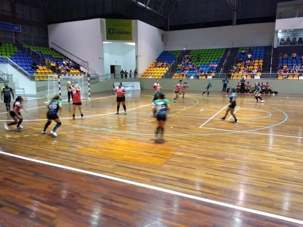 Liga Nacional de Handebol Feminino acontece em Porto Velho  — Foto: André Felipe