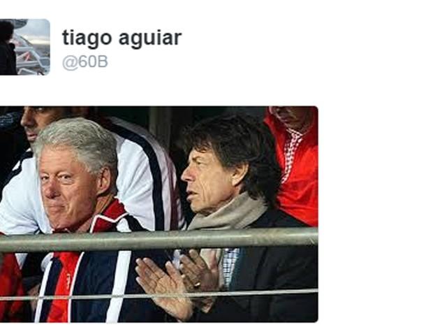 Mick Jagger e seu já conhecido pé-frio era peça obrigatória na rota da eleição americana (Foto: Reprodução)