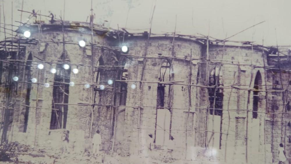 Catedral de Petrolin sendo construída