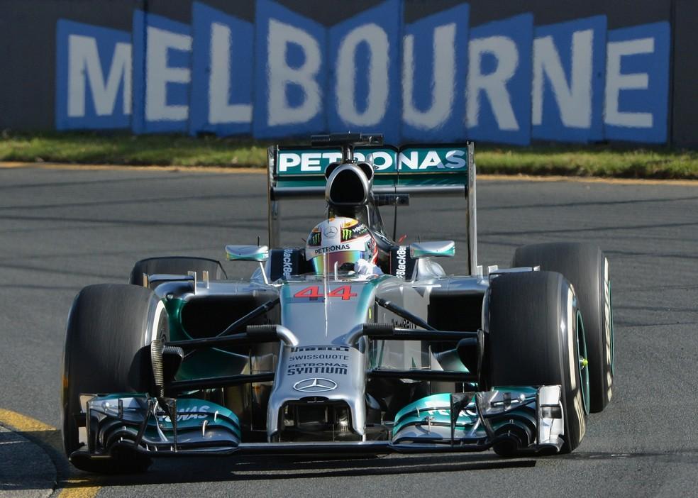 GP da Austrália é uma das atrações do mês de março — Foto: AFP
