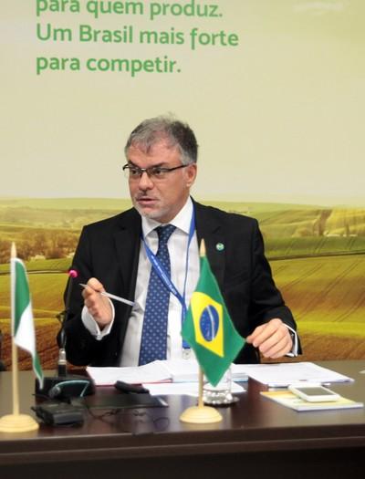 Odilson Ribeiro e Silva-Ministério da Agricultura-secretário de Relações Internacionais do Agronegócio (Foto: Antonio Araujo/Mapa/Flickr)