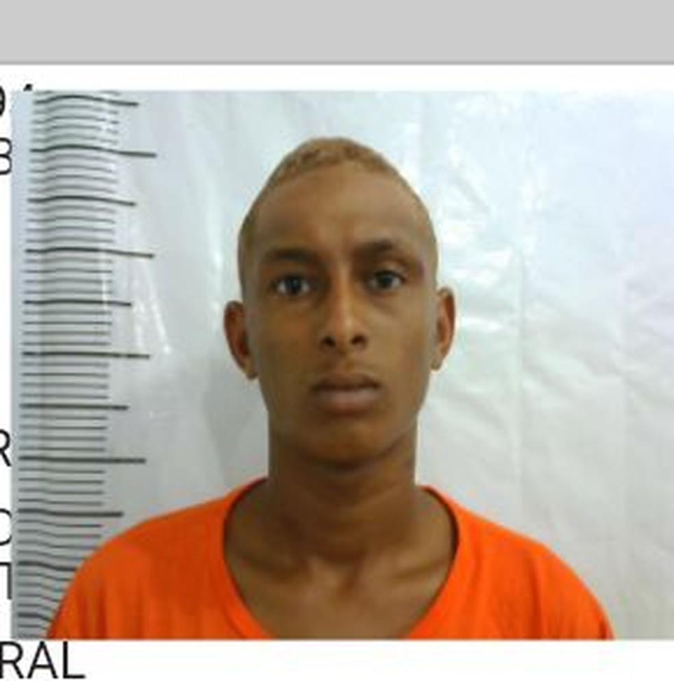 Elton cumpria prisão preventiva em Pedrinhas por tráfico de drogas (Foto: Divulgação/Polícia Militar)