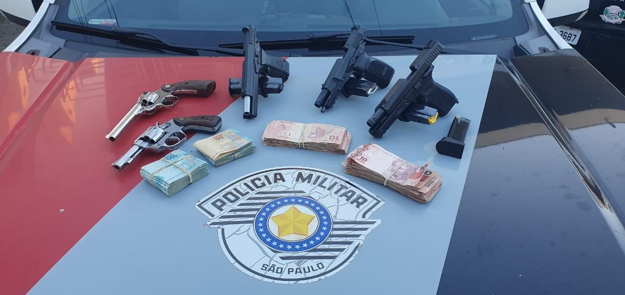 Homem é preso com armas e mais de 70 munições após perseguição em Botucatu
