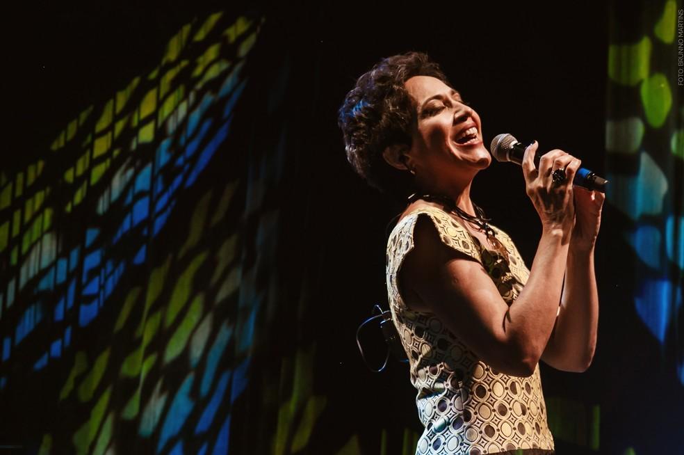 Valéria Oliveira vai cantar Luiz Melodia — Foto: Brunno Martins