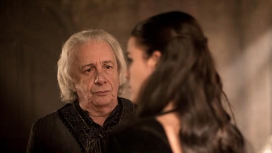 Últimos capítulos: Augusto e Catarina se reencontram