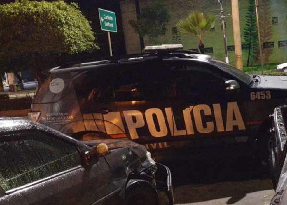 Polícia captura grupo suspeito de praticar crimes em Horizonte, na Grande Fortaleza. — Foto: Reprodução