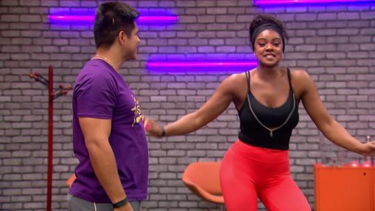 'Dança dos Famosos': veja como foram os ensaios para as apresentações de salsa