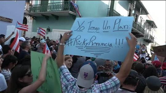 Greve geral é convocada em Porto Rico contra governador