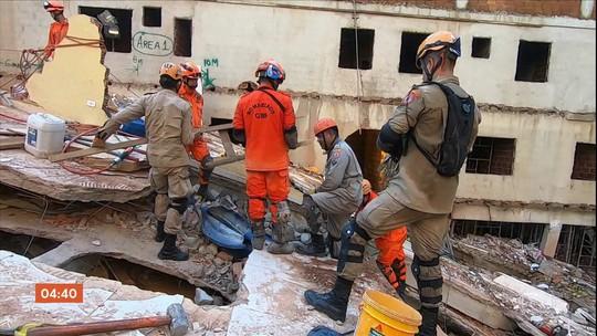 Oito pessoas seguem desaparecidas após desabamento de prédios na Muzema, no RJ
