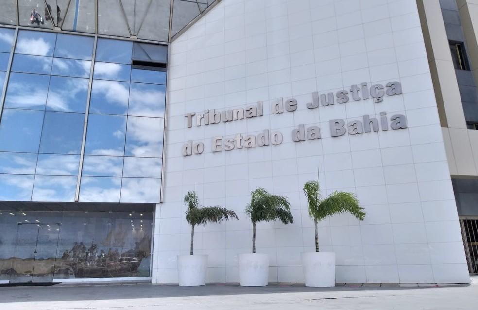 Operação apura esquema de venda de decisões judiciais no Tribunal de Justiça da Bahia (TJ-BA) — Foto: Alan Oliveira/G1