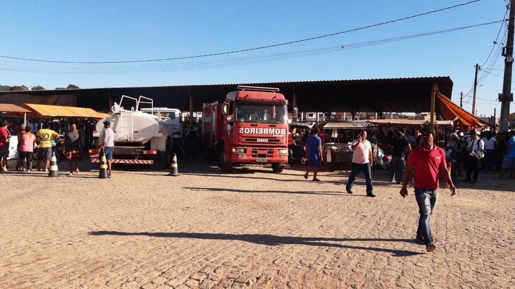 Ninguém ficou ferido — Foto: Giro Ipiaú