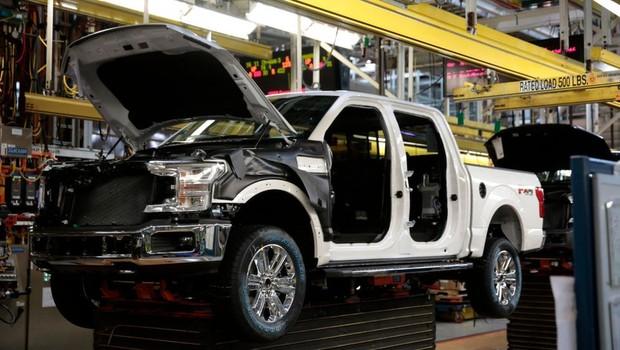Alguns modelos da picape Ford F-150 podem superar os US$ 60 mil (Foto: Getty Images via BBC News)