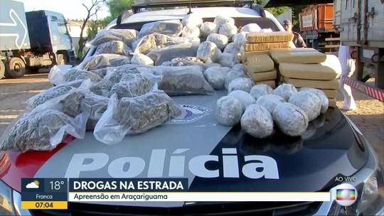 Polícia prende trio e faz grande apreensão em 'drive thru' de droga na Castello Branco